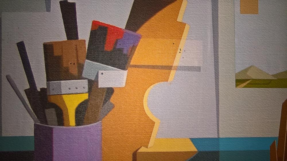Painting art wallpaper