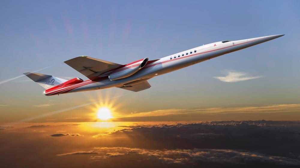 Aerion AS2 Supersonic jet wallpaper