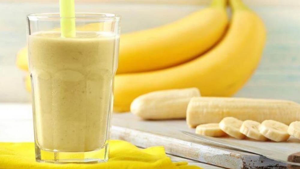 Banana juice wallpaper