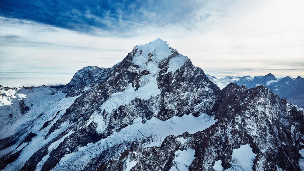 Mount Cook peak wallpaper