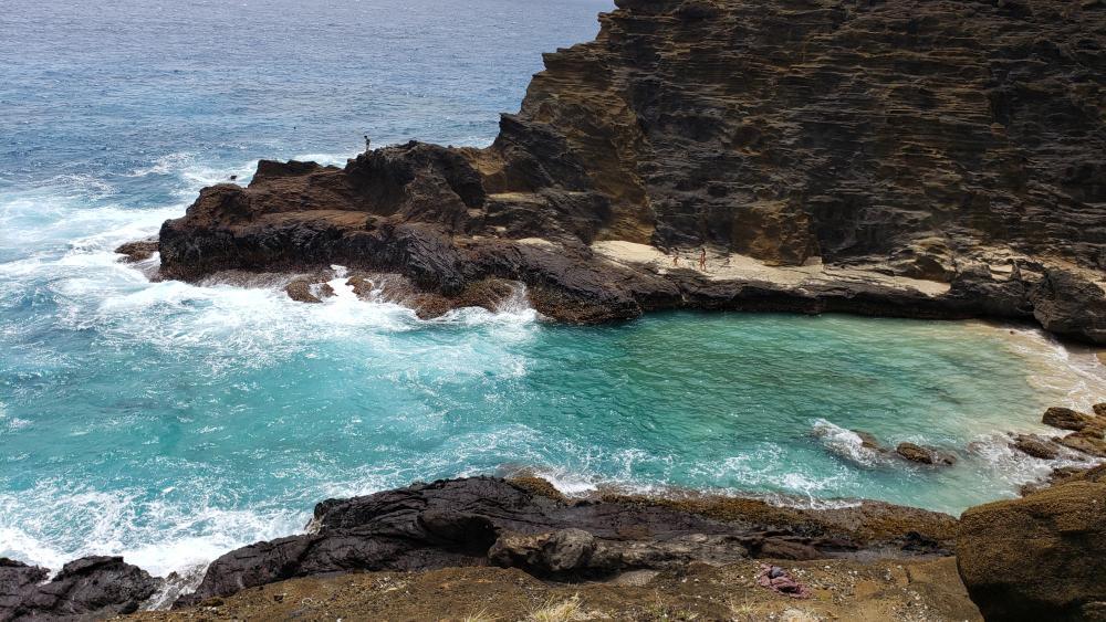 Little Hawaiian Shore wallpaper
