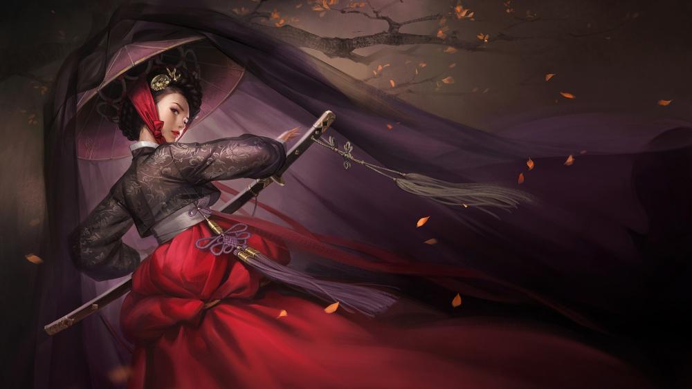 Gisaeng wallpaper