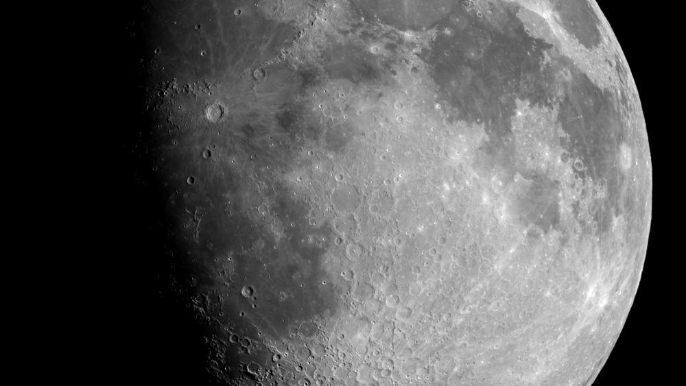 Lunar Mosaic wallpaper