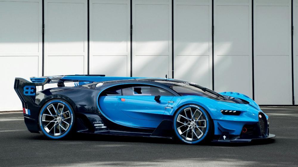 Bugatti Vision Gran Turismo wallpaper
