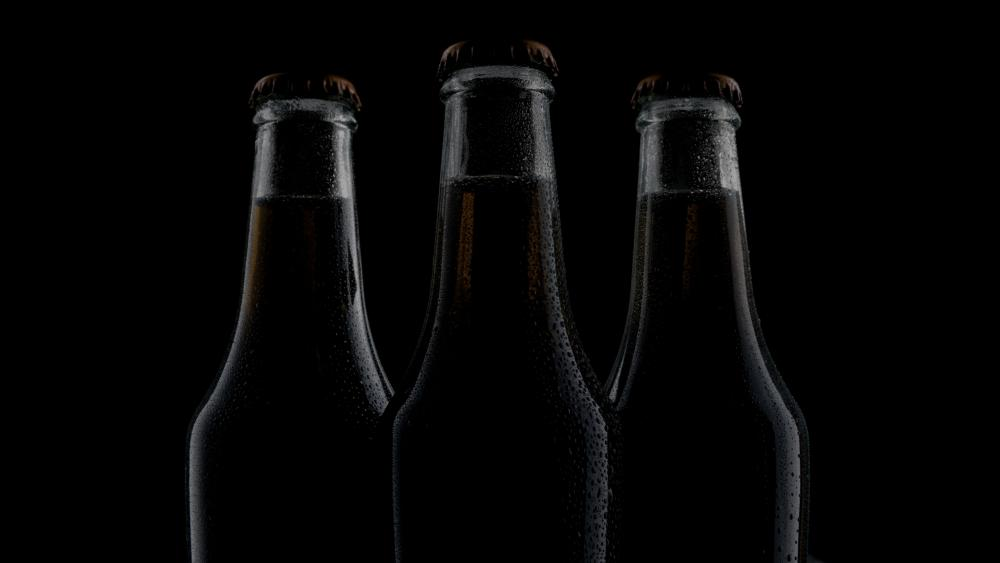 Bottles wallpaper