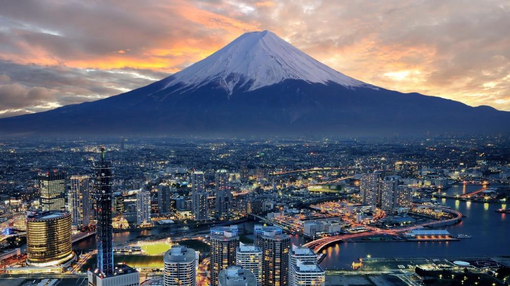 View from Landmark Tower, Yokohama wallpaper