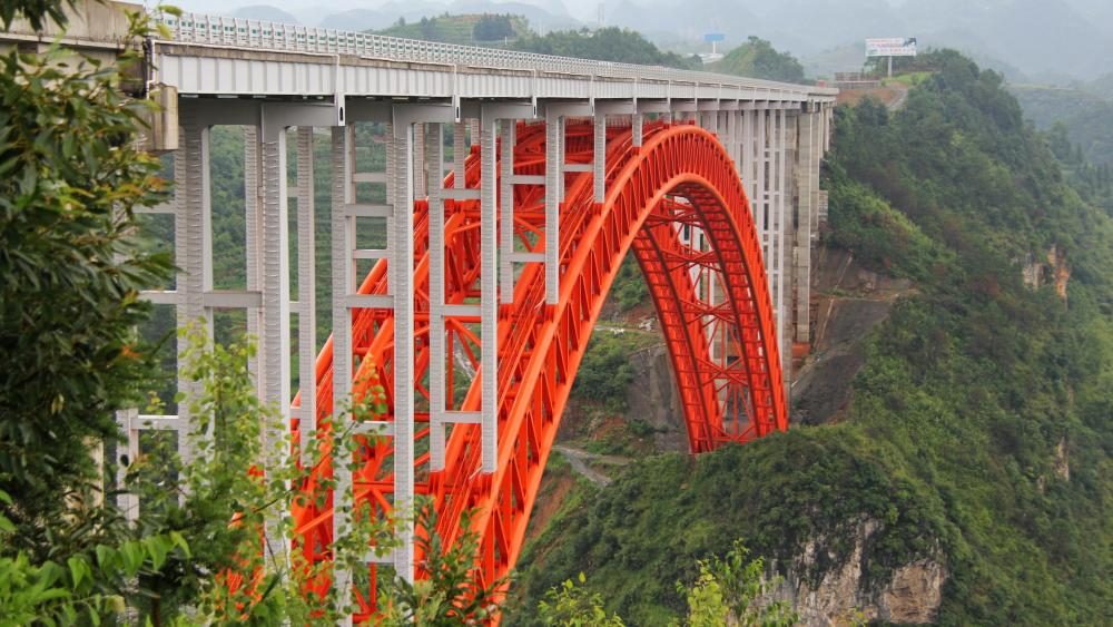 Zongxihe Bridge wallpaper