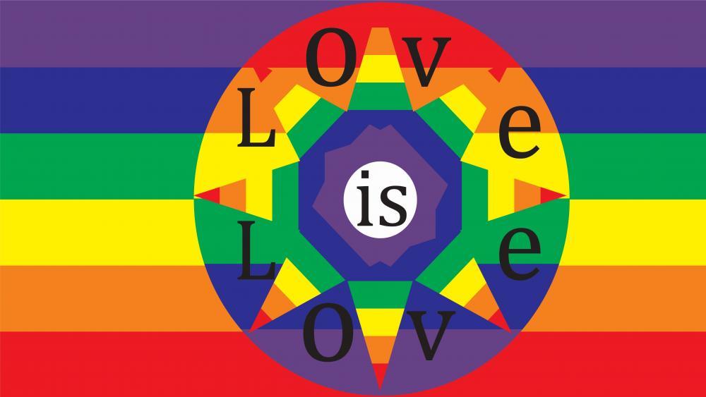 Love is love wallpaper