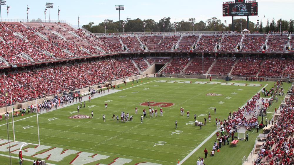 Stanford Stadium wallpaper