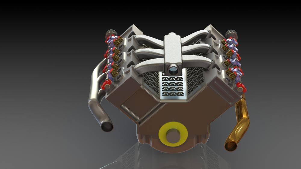Engine v6 wallpaper