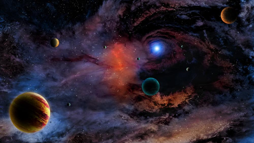 The infinite universe wallpaper
