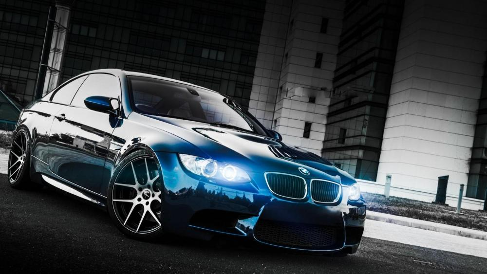 Blue bmw e92 m3 wallpaper