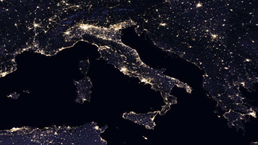 Night Lights of Italy 2016 wallpaper
