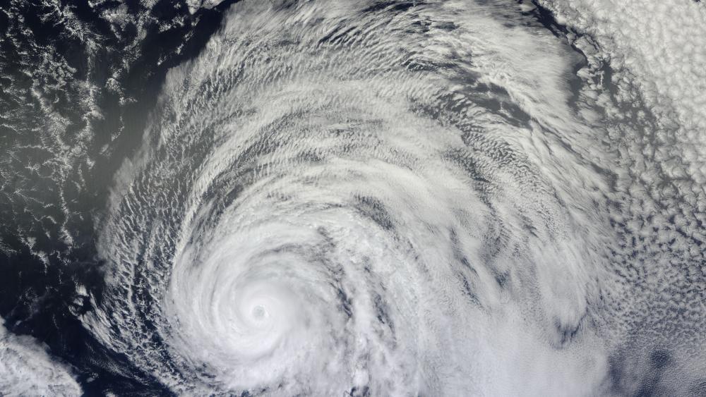 Hurricane Daniel wallpaper