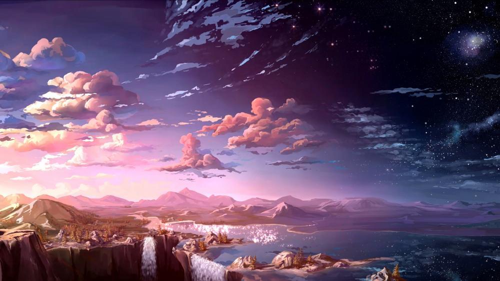 Fantasy  Natural Scenery wallpaper