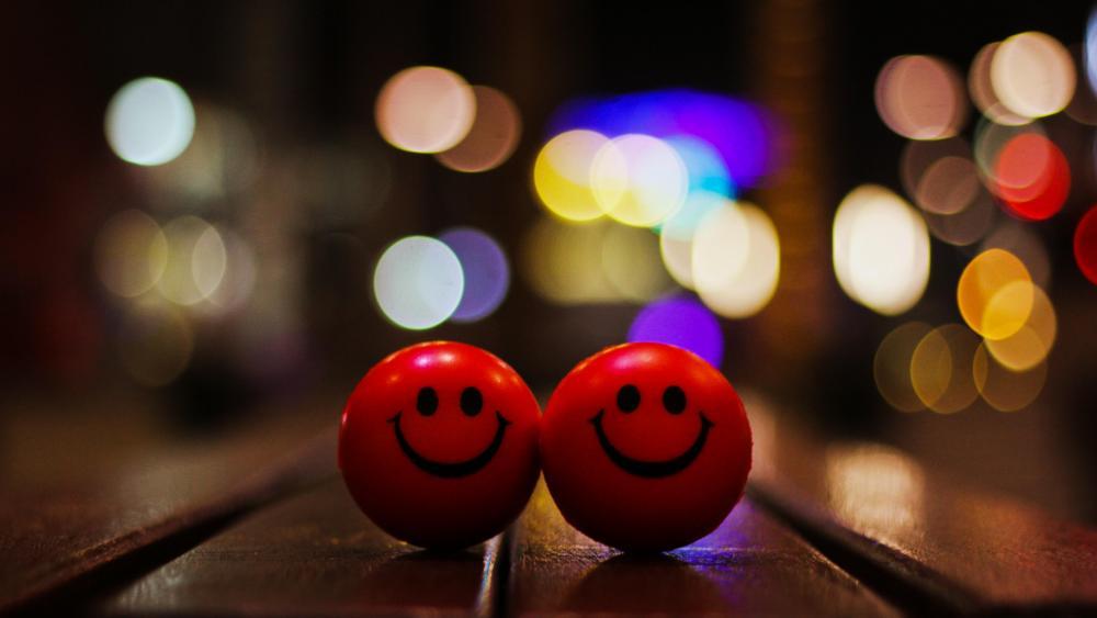 Happy smiles wallpaper