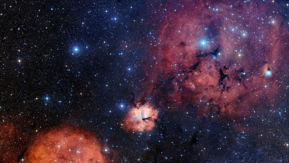Gum 15 Star-Formation Region wallpaper