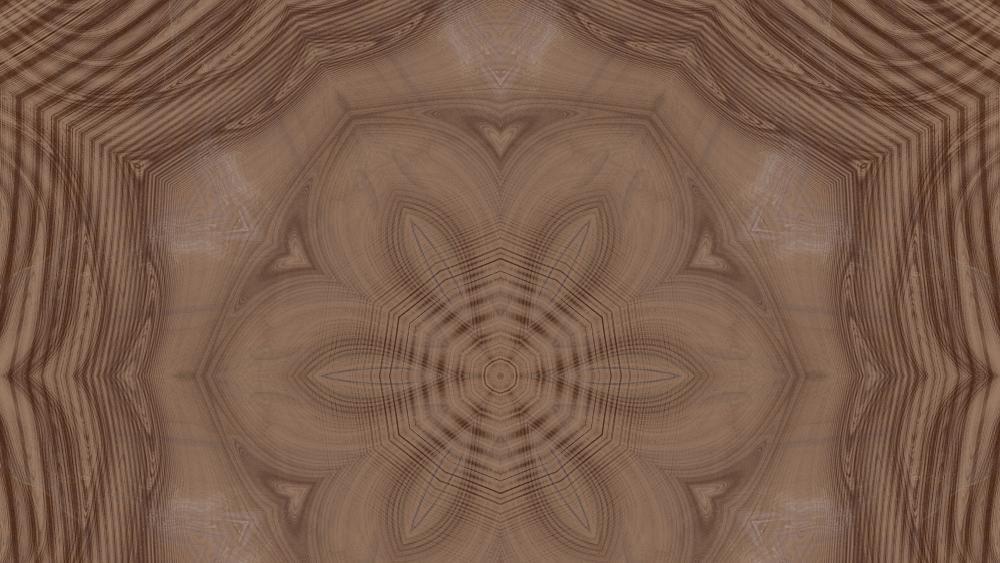 wood flower wallpaper