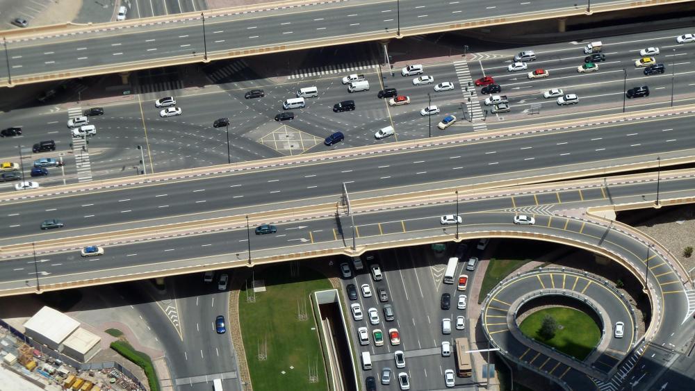 View from Burj Khalifa wallpaper