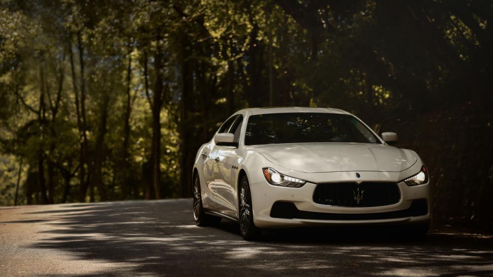 Maserati-Ghibli  wallpaper