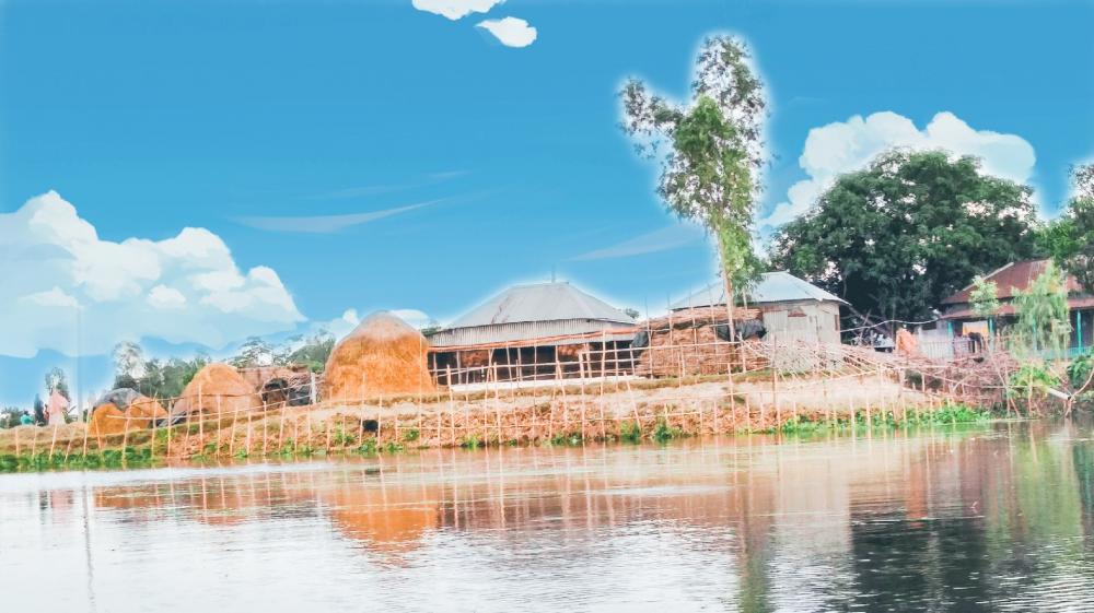 Bangladeshi Village wallpaper