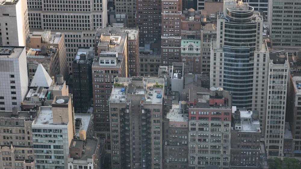 NYC Tower Blocks wallpaper