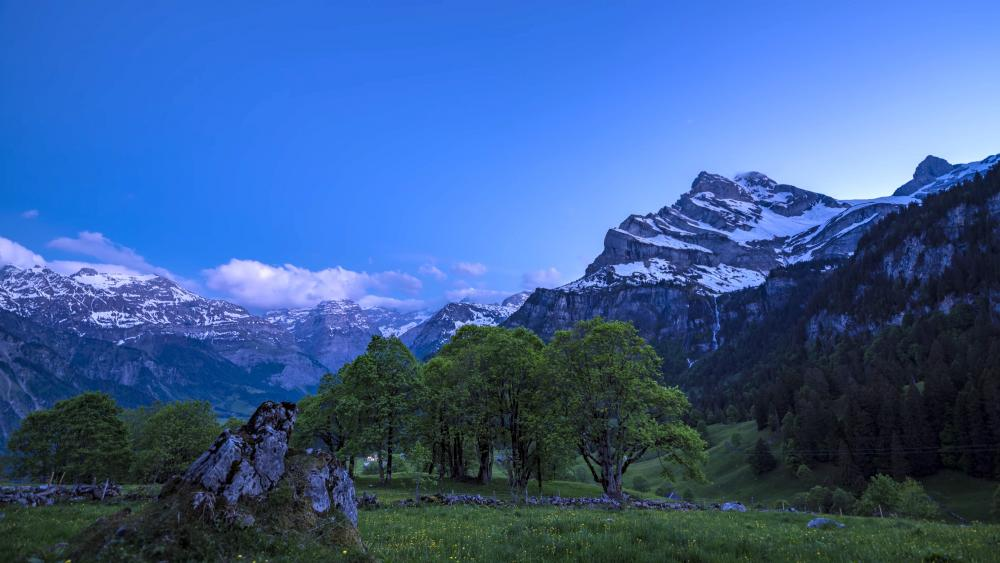 Peaceful in Switzerland wallpaper