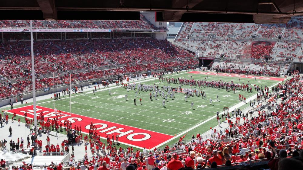 Bowling Green Falcons vs. Ohio State Buckeyes wallpaper