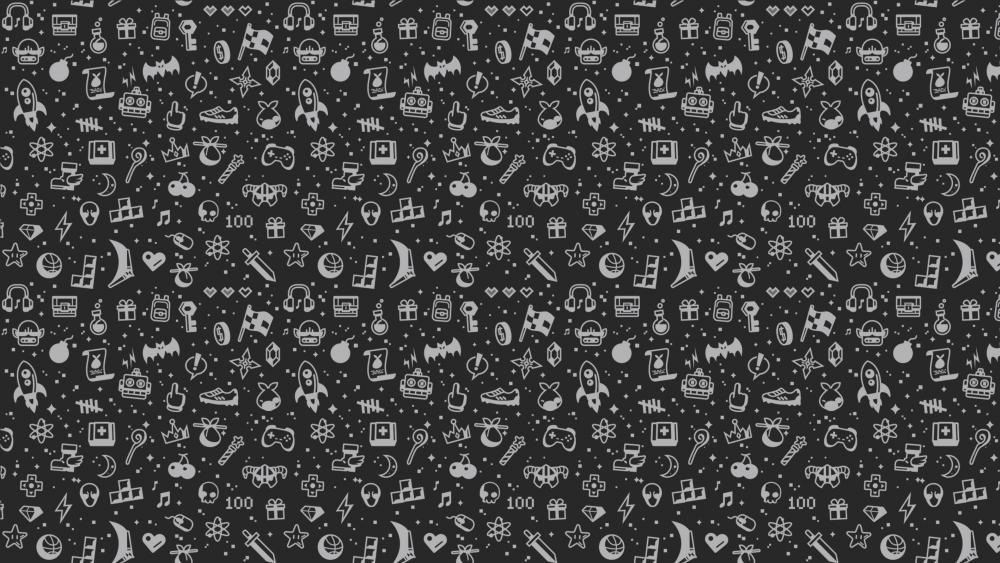 Minimal Gaming Dark wallpaper