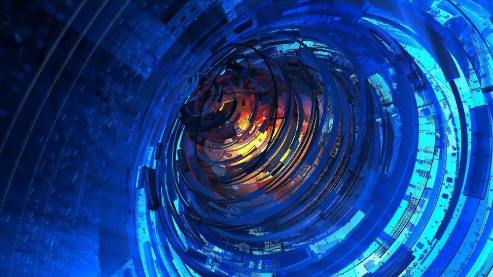Spiral Digital wallpaper