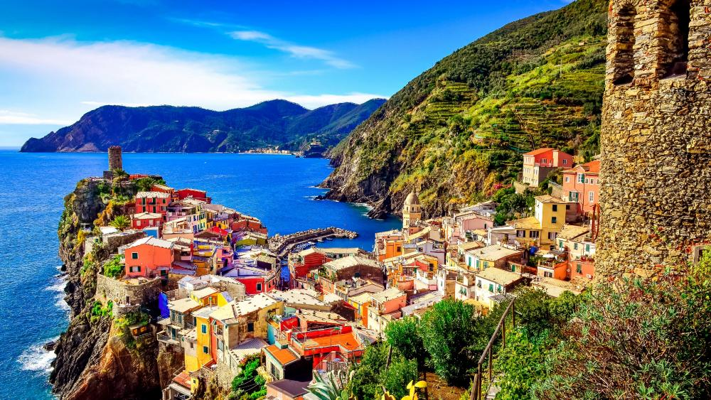 Manarola Bay wallpaper