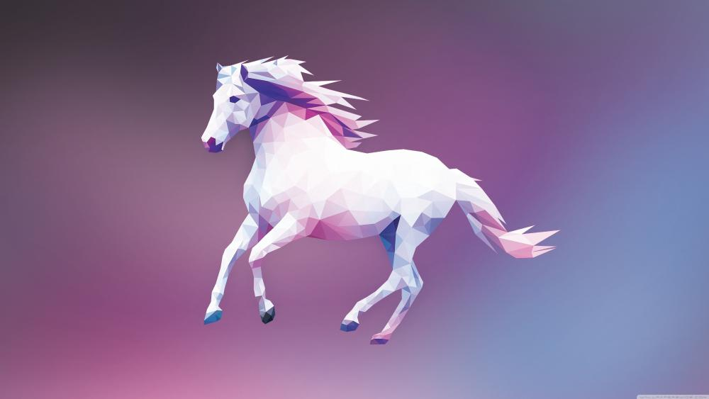 horse vector wallpaper
