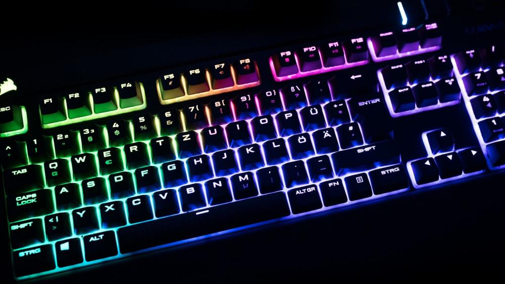Gaming Keyboard wallpaper