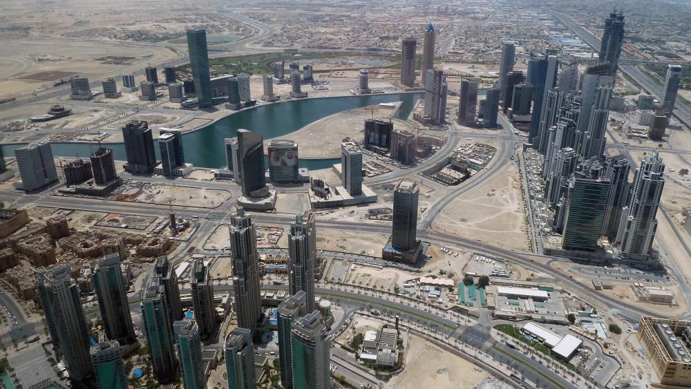 View from the Burj Khalifa wallpaper