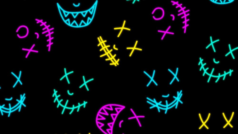Neon Mask's wallpaper