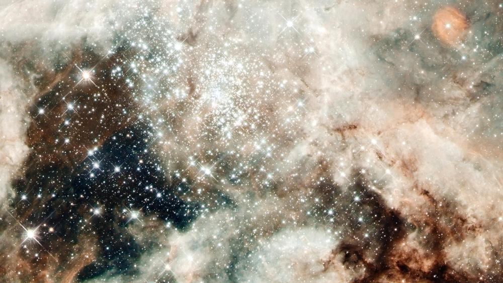 Hubble Images 30 Doradus: NGC 2070 wallpaper