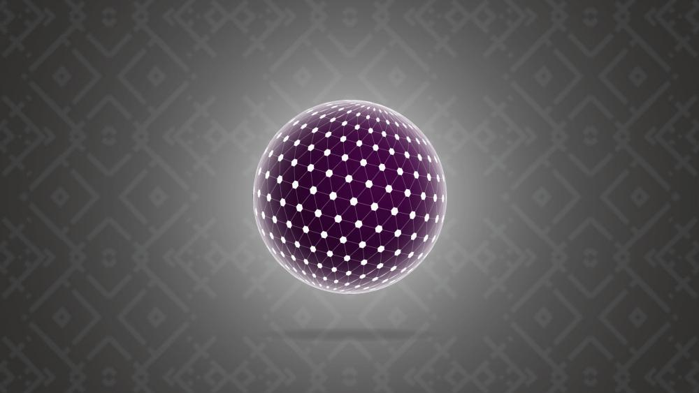circled tesseract wallpaper