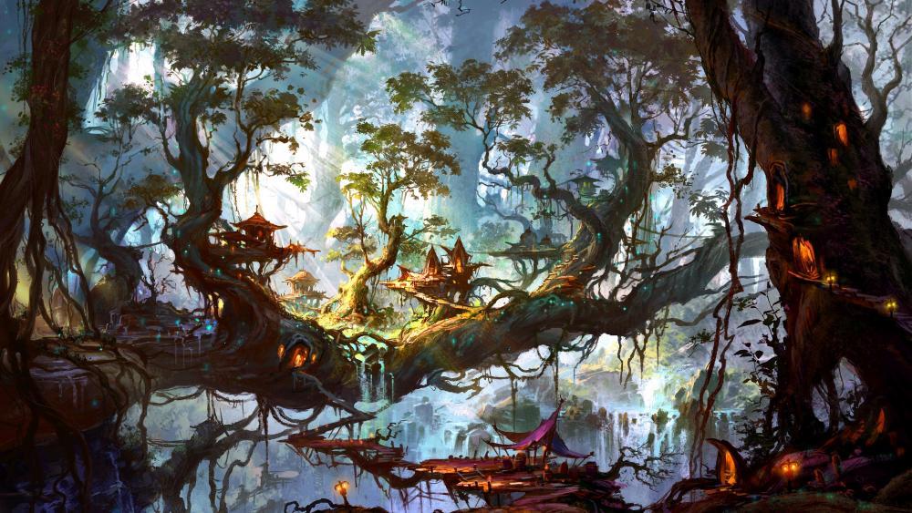 Jungle Fantasy wallpaper