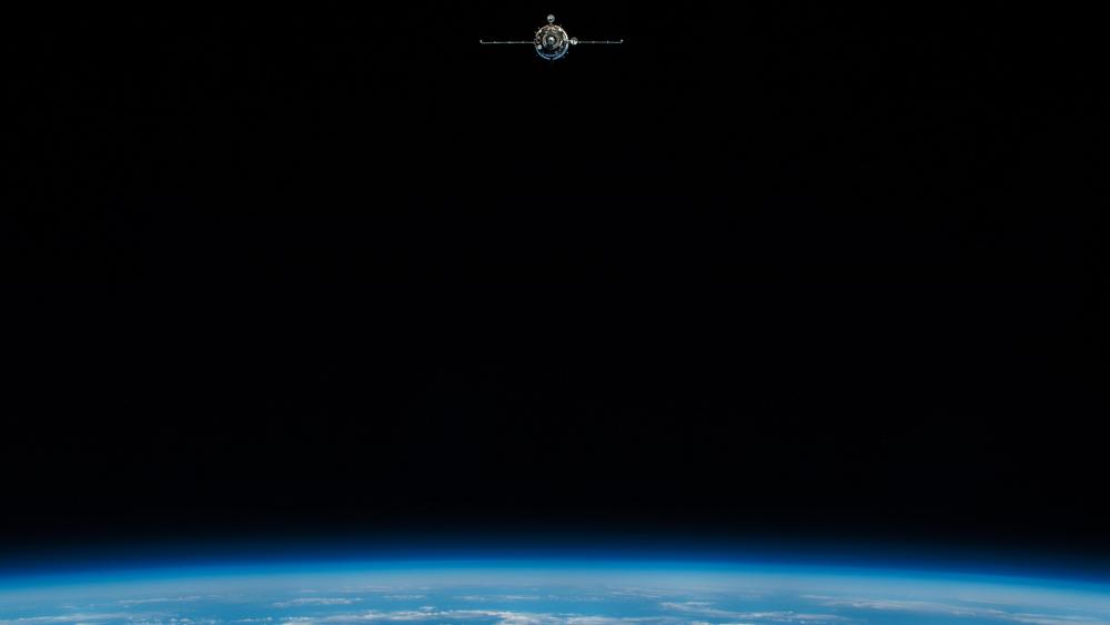 Horizons: Soyuz MS-11 Launch wallpaper