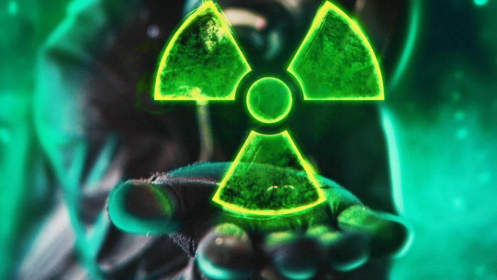 Radiation Logo wallpaper