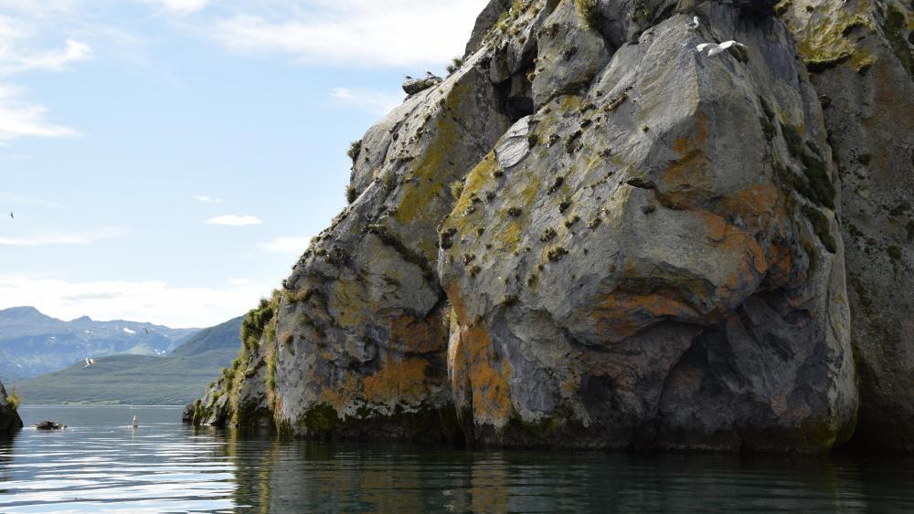 Kurile Lake wallpaper