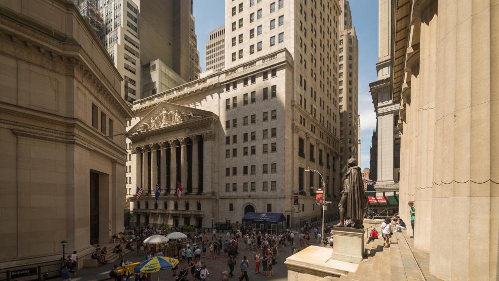 New York Stock Exchange wallpaper