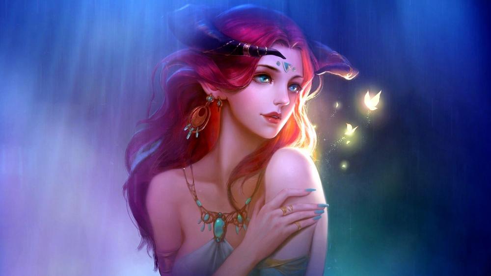 Fantasy Fairy Painting wallpaper