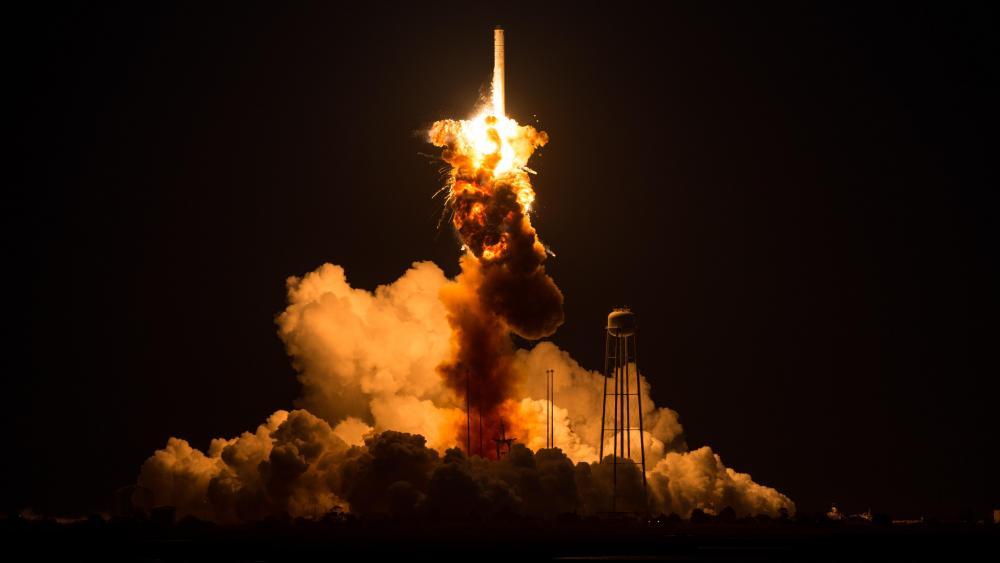Orbital Sciences Antares Launch wallpaper