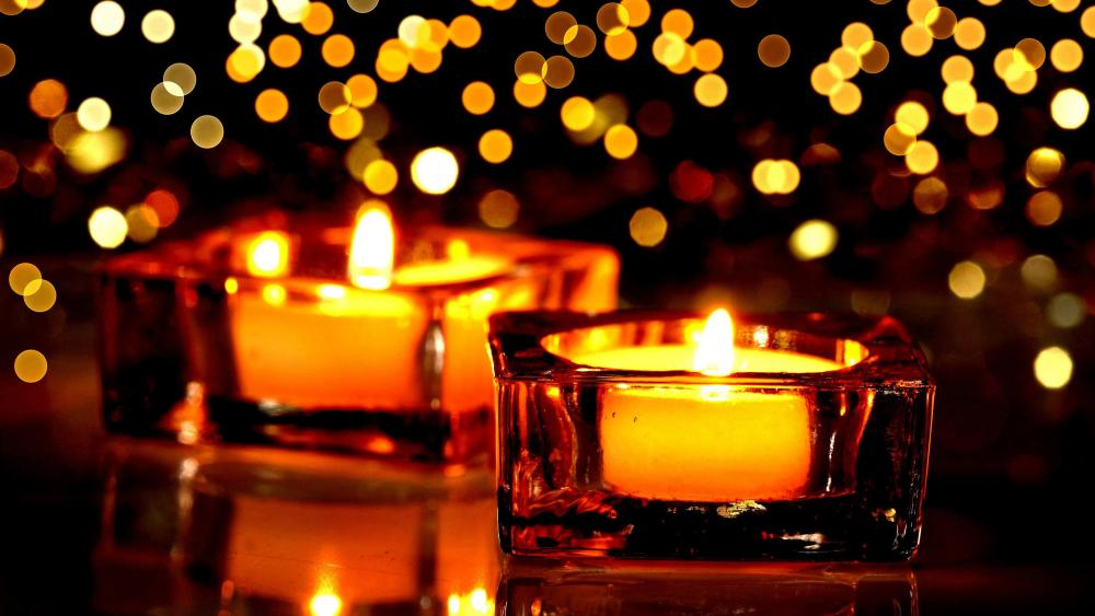 Candles In The Dark wallpaper