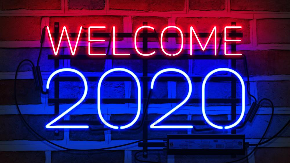 welcome 2020 wallpaper