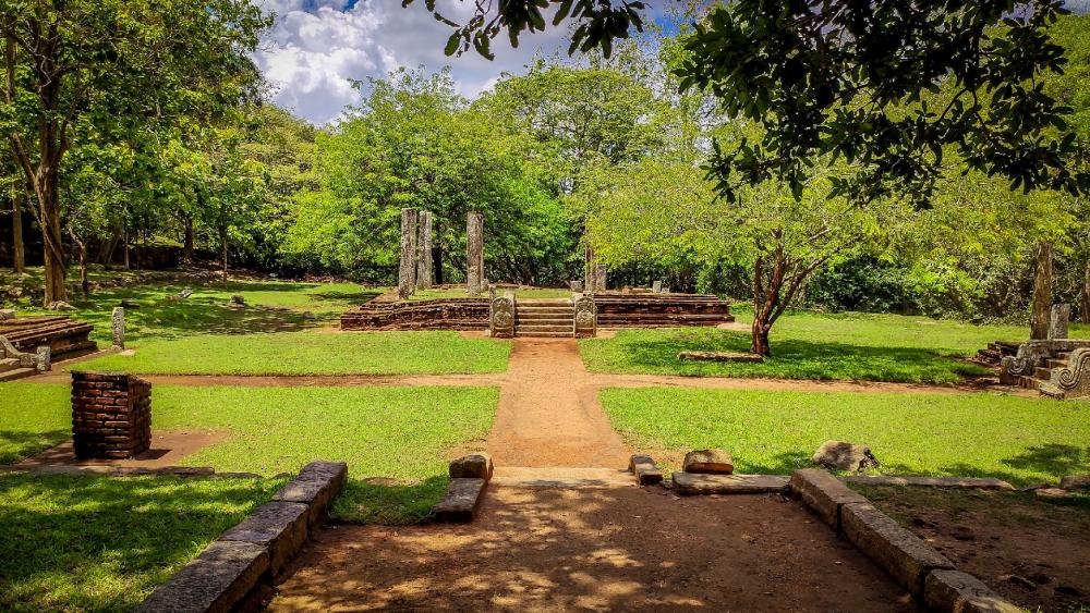 Ruins in Mihinthale - Anuradhapura wallpaper