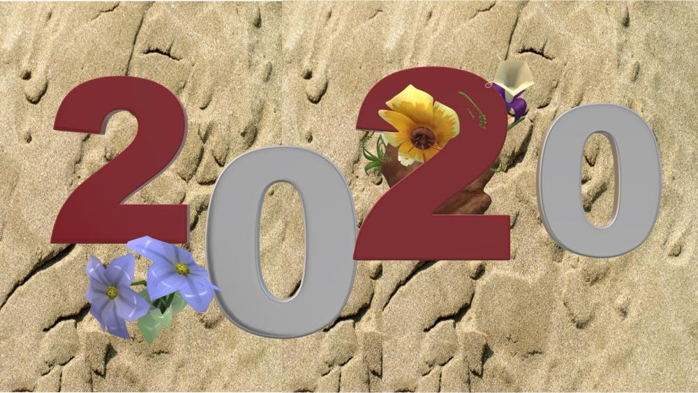 Happy Year 2020 wallpaper