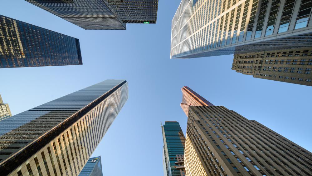 Toronto Financial District wallpaper