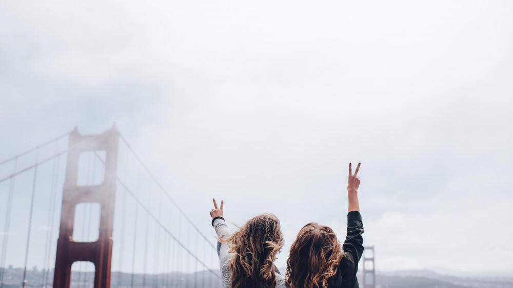 Golden Gate Bridge victory wallpaper
